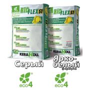 Эластичный белый клей Bioflex S1 25 кг, Kerakoll